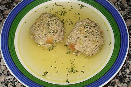 Kräuter-Leberknödel-Suppe 6