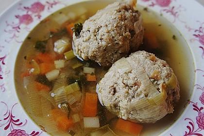 Kräuter-Leberknödel-Suppe 5
