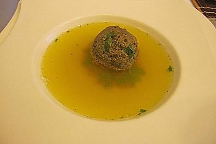 Kräuter-Leberknödel-Suppe 2