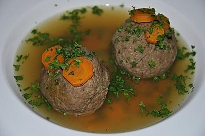 Kräuter-Leberknödel-Suppe 7