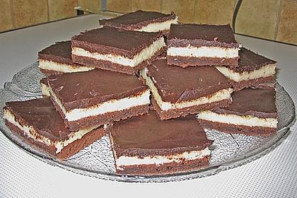 Bounty kuchen mit bounty riegel