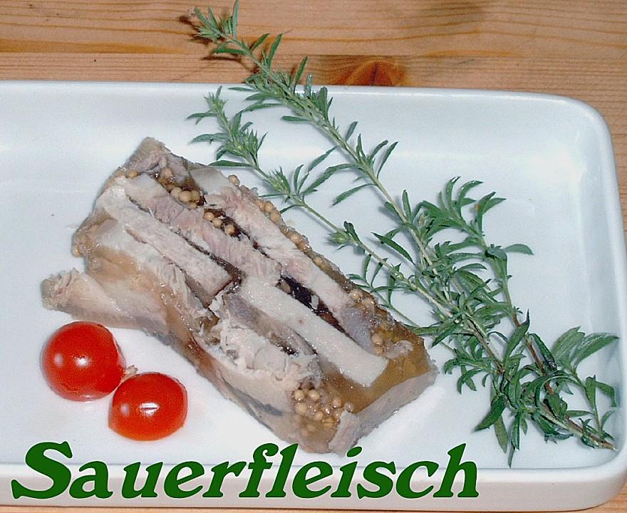 Mecklenburger sauerfleisch rezept