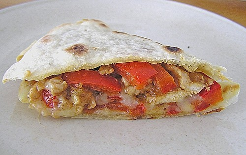 Chicken Cheese Quesadillas 4