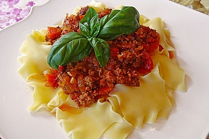 Bolognese-Sauce 1