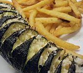 Gebackene Zucchini (Bild)