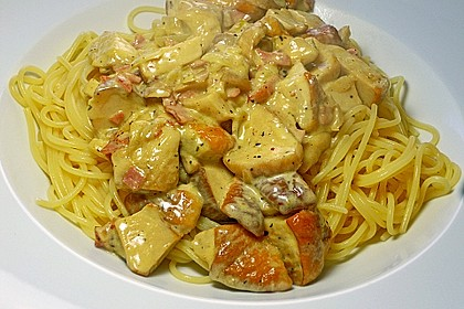 Spaghetti mit Steinpilzen 2