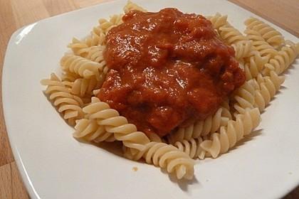 Spaghetti mit Tomaten-Chutney 1