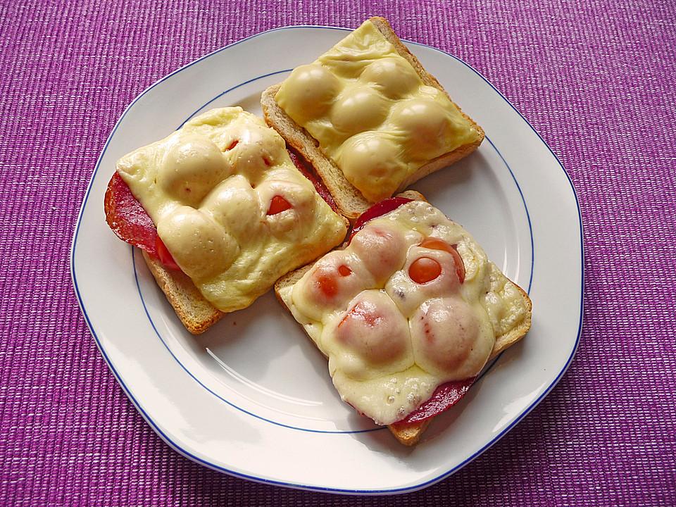 toast berbacken tomaten k se rezepte. Black Bedroom Furniture Sets. Home Design Ideas