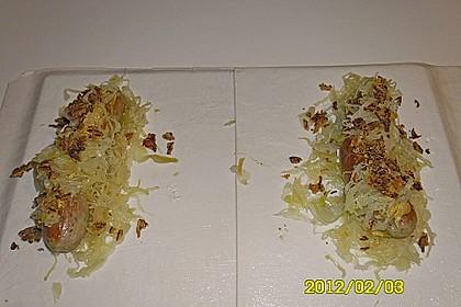 Bratwurst im Blätterteig 2