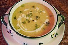 Kartoffelsuppe mit Joghurt