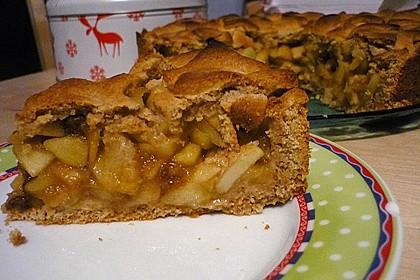 Gedeckter Apfelkuchen 14