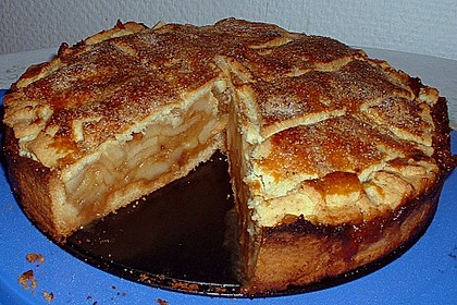 Gedeckter Apfelkuchen 16
