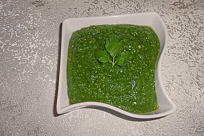 Petersilien-Pesto 3