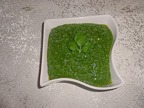 Petersilien-Pesto 6