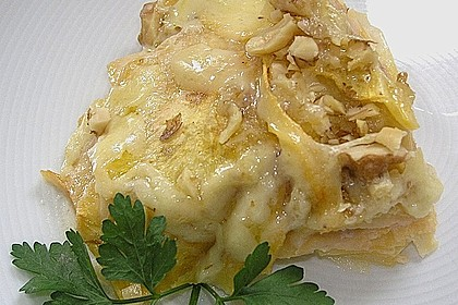 Gratinierte Steckrübe mit Käse-Nuss-Kruste 2