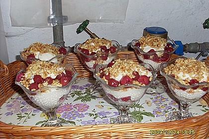 Frischkäse-Kirsch-Dessert 14
