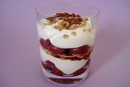 Frischkäse-Kirsch-Dessert 10