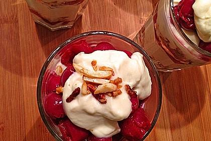 Frischkäse-Kirsch-Dessert 16