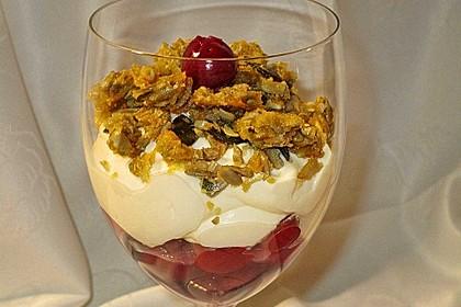 Frischkäse-Kirsch-Dessert 3