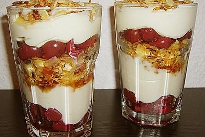 Frischkäse-Kirsch-Dessert 2