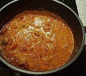 Tomatensuppe mit Hackklößchen (Bild)