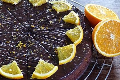 Libanesischer Orangenkuchen 8