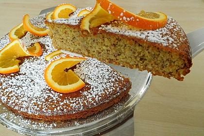 Libanesischer Orangenkuchen 1