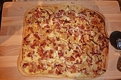 Elsässer Flammkuchen 1