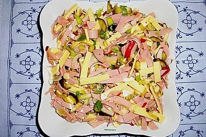 Schweizer Wurstsalat 10
