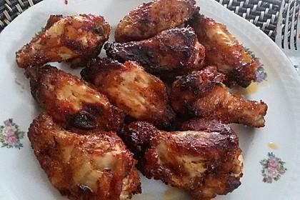 BBQ Chicken Wings Hot & Spicy (Bild)