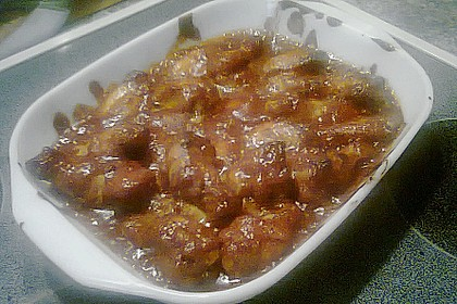 BBQ Chicken Wings Hot & Spicy 11