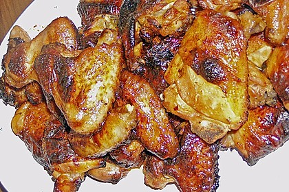 BBQ Chicken Wings Hot & Spicy 3