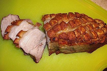 Krustenbraten vom Schwein 1