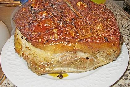 Krustenbraten vom Schwein 31