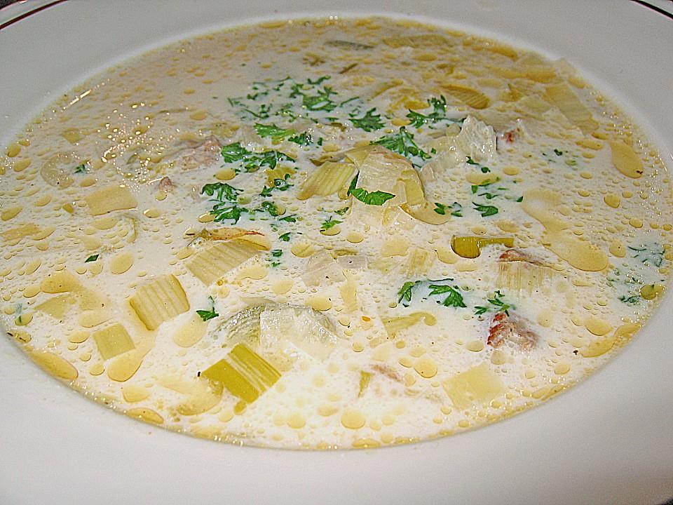 Käse-Porree-Suppe von Ela* | Chefkoch.de