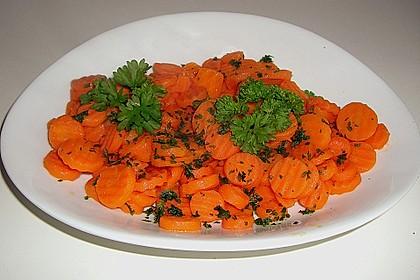 Karamellisierte Karotten 20