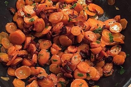 Karamellisierte Karotten 22