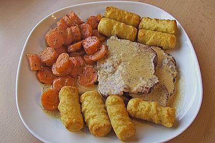 Karamellisierte Karotten 29