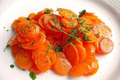 Karamellisierte Karotten 3