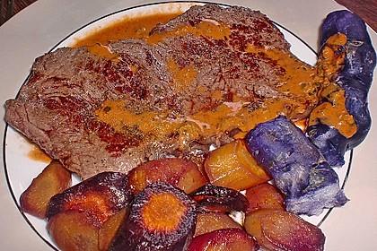 Karamellisierte Karotten 30