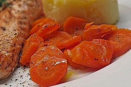Karamellisierte Karotten 10