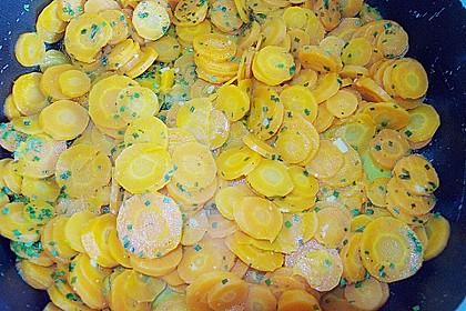 Karamellisierte Karotten 26