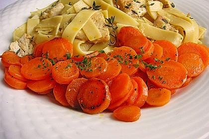 Karamellisierte Karotten 6