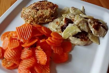 Karamellisierte Karotten 1