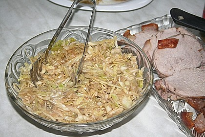 Bayerischer Krautsalat 2
