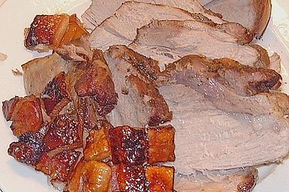 Bayerischer Schweinebraten mit Biersauce 9
