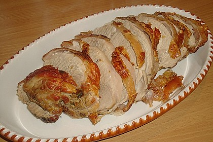 Bayerischer Schweinebraten mit Biersauce 3