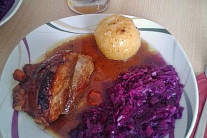 Bayerischer Schweinebraten mit Biersauce 11