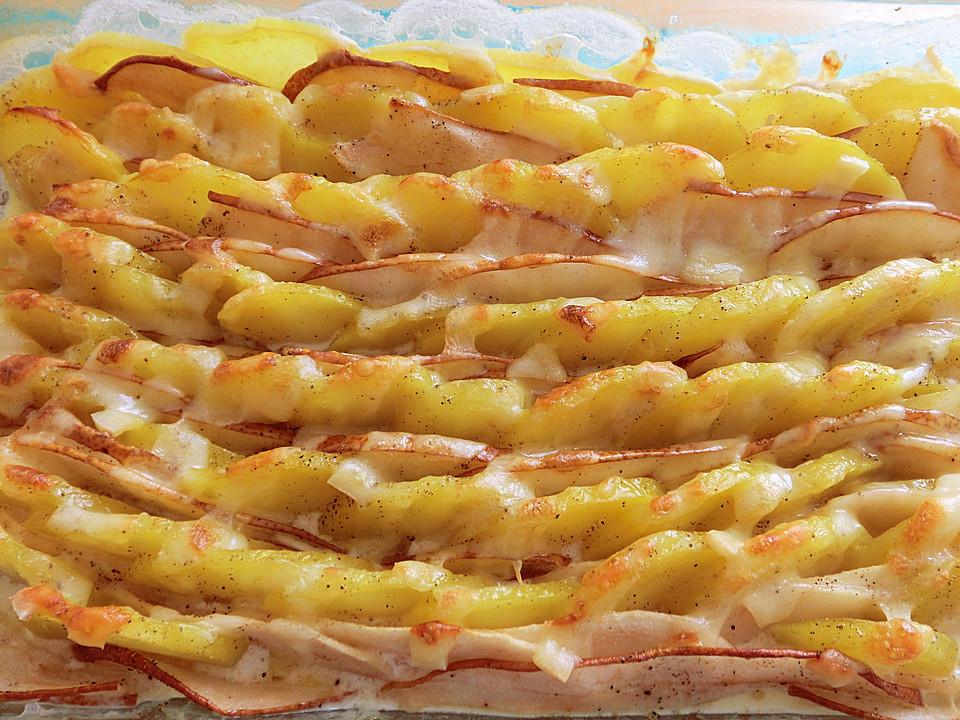 Rezept kartoffel birnen gratin