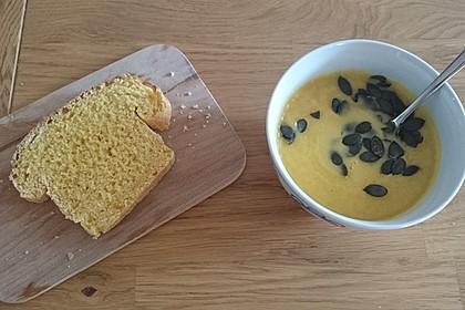 Kürbis - Kokos Suppe 8